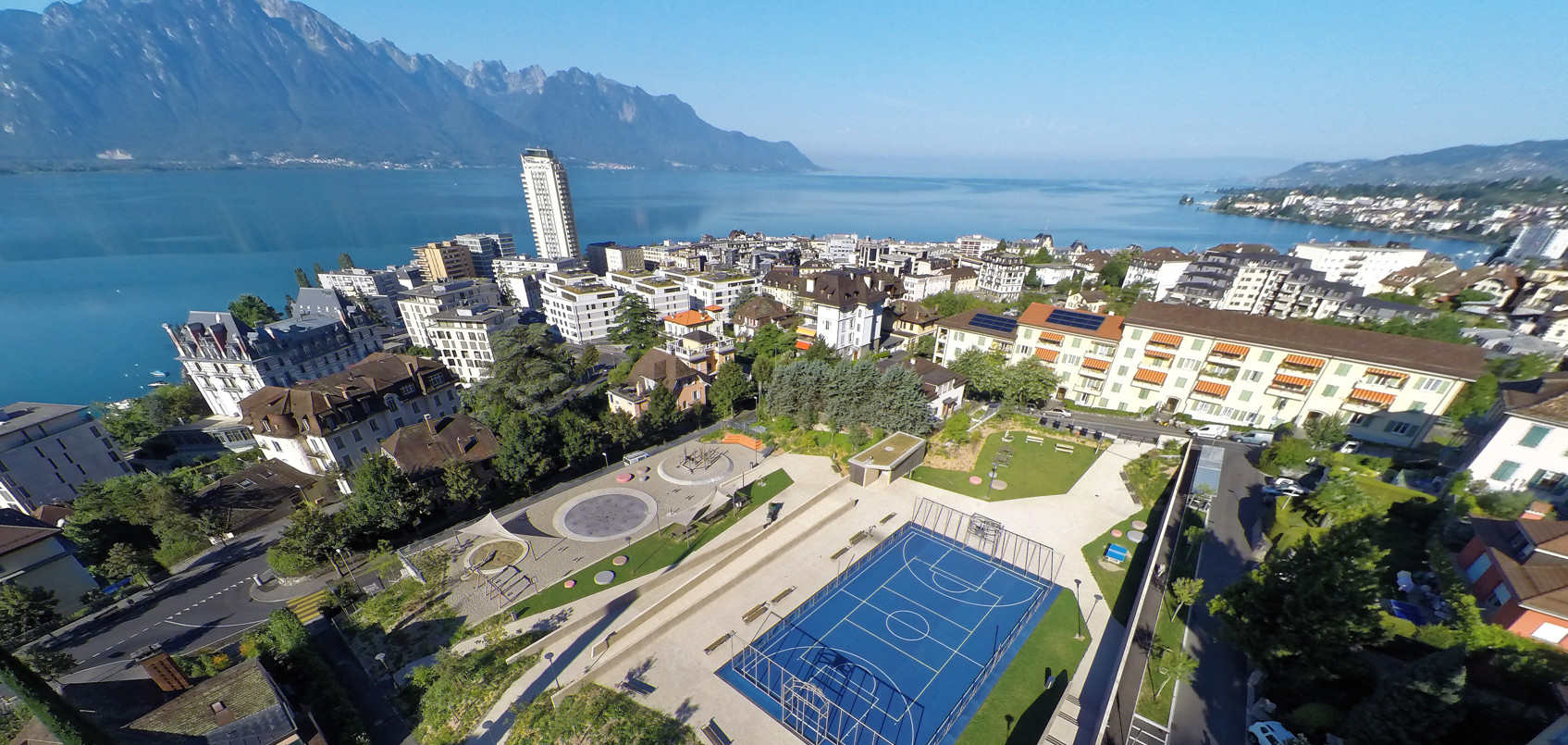 Montreux - Parking Donner